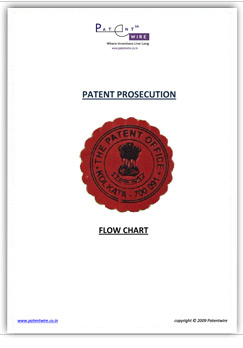 Patent Prosecution in India-a flow chart