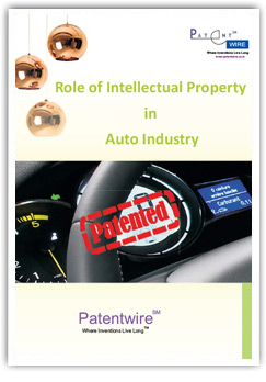 Role of Intellectual Property in Auto Industry